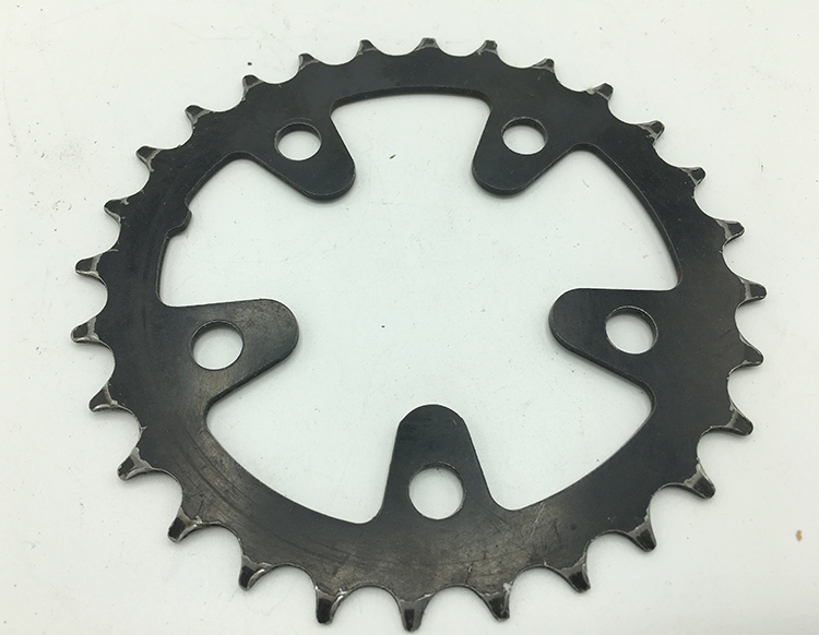 28-tooth steel Biopace chainring
