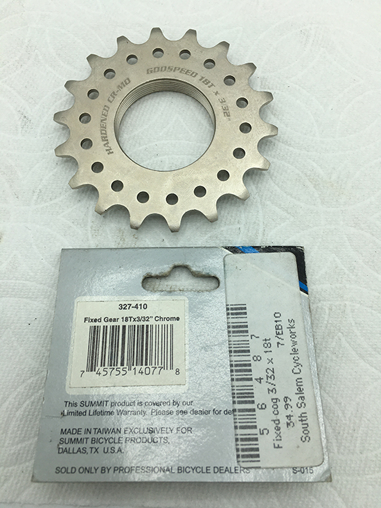 Summit 18-tooth track cog