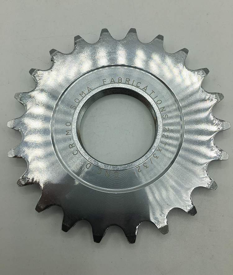 22-tooth track cog
