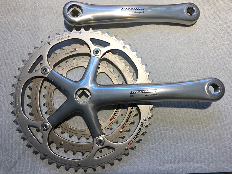 Record 175 triple crankset