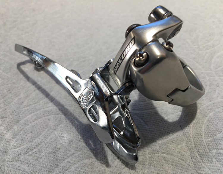 Record clamp-on ront derailleur