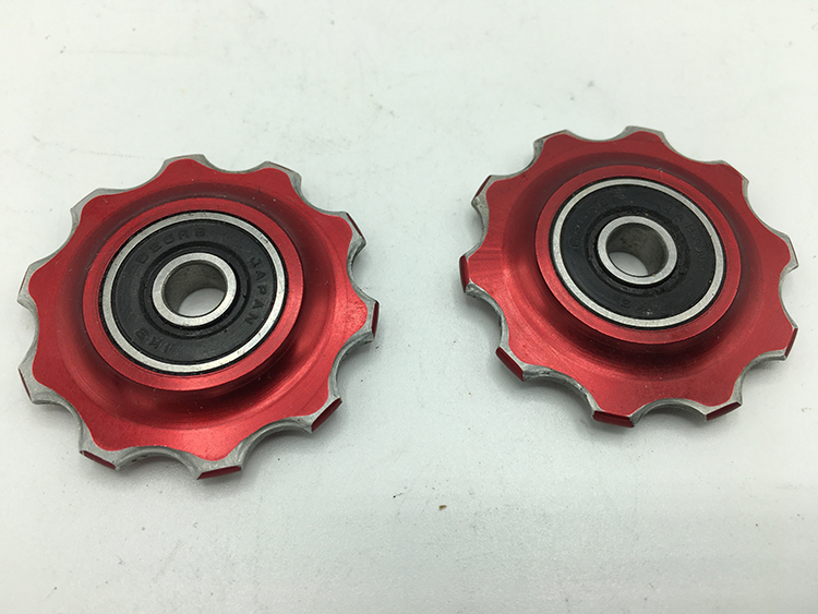 Bullseye pulleys