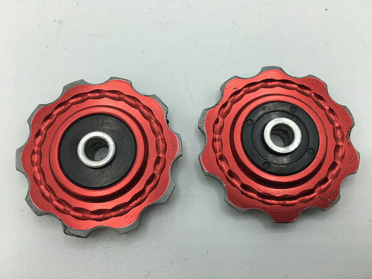 Cartidge pulley wheels