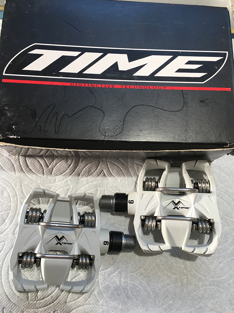 Time MX6 pedals