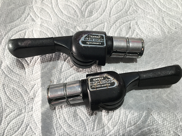 Barcon 6-speed shifters